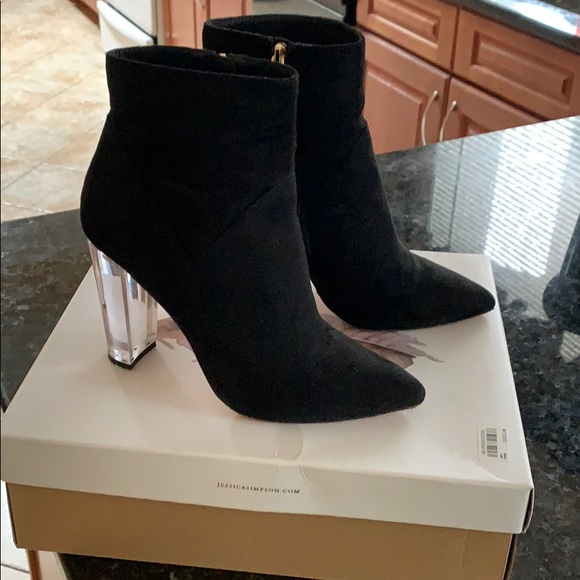 Jessica Simpson Shoes - Jessica Simpson suede booties - size 8.5